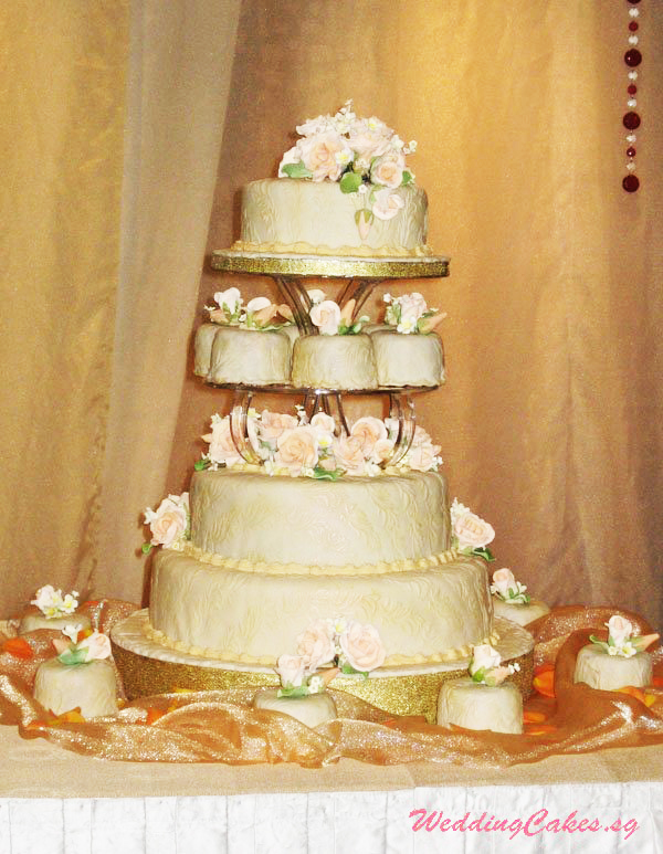 3 to 5 Tier Wedding Cakes Gallery – Luxury Collection – Weddingcakes.sg