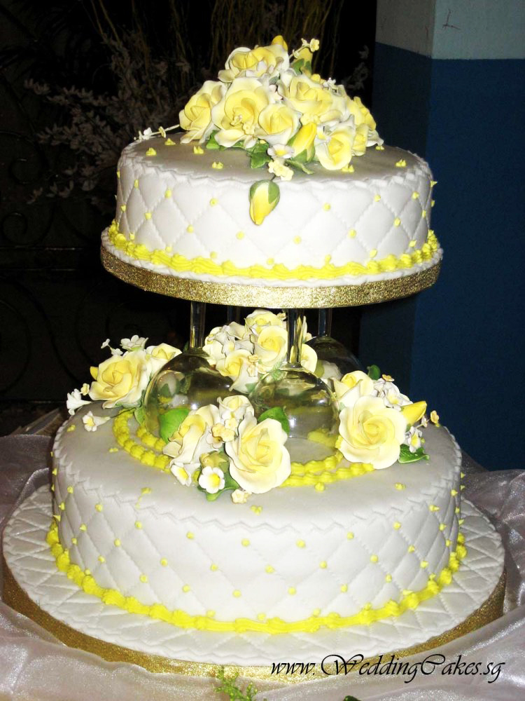 2 tier wedding cake singapore 2 tier wedding cakes gallery collection 10166