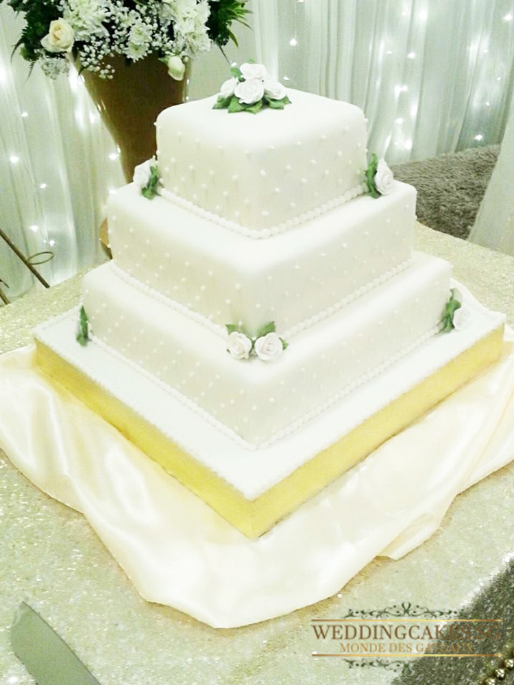 Cascadia1 - - Wedding Cakes Singapore