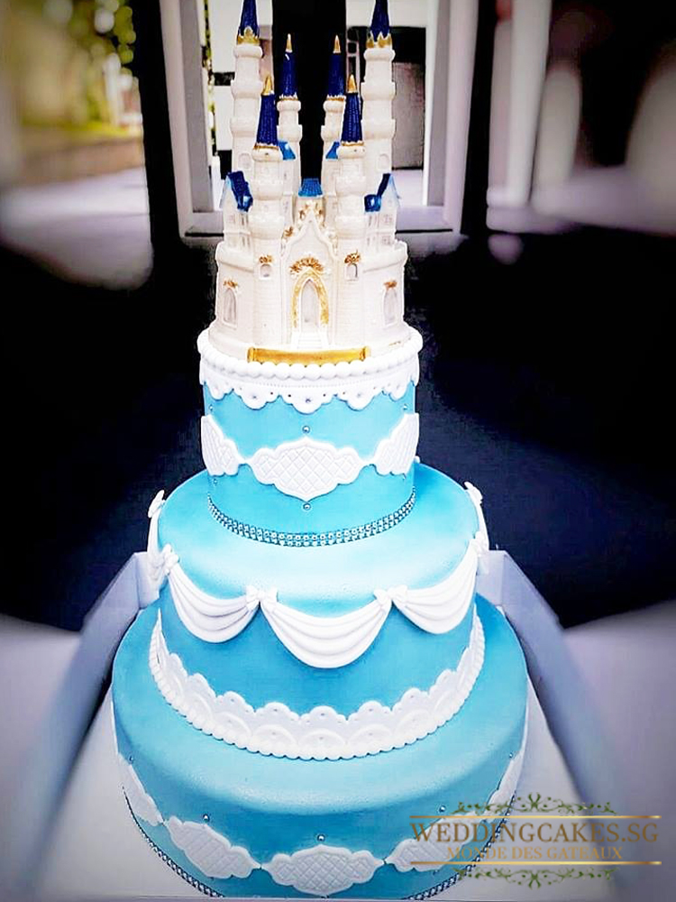 Castleford1 - - Wedding Cakes Singapore