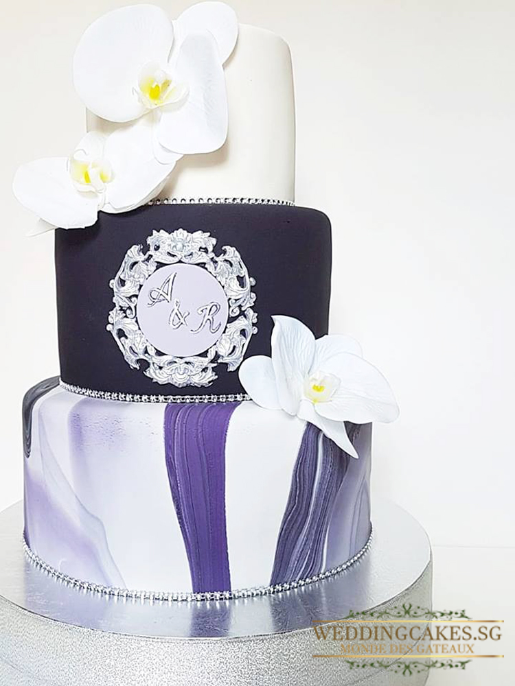 Chloe1 - - Wedding Cakes Singapore