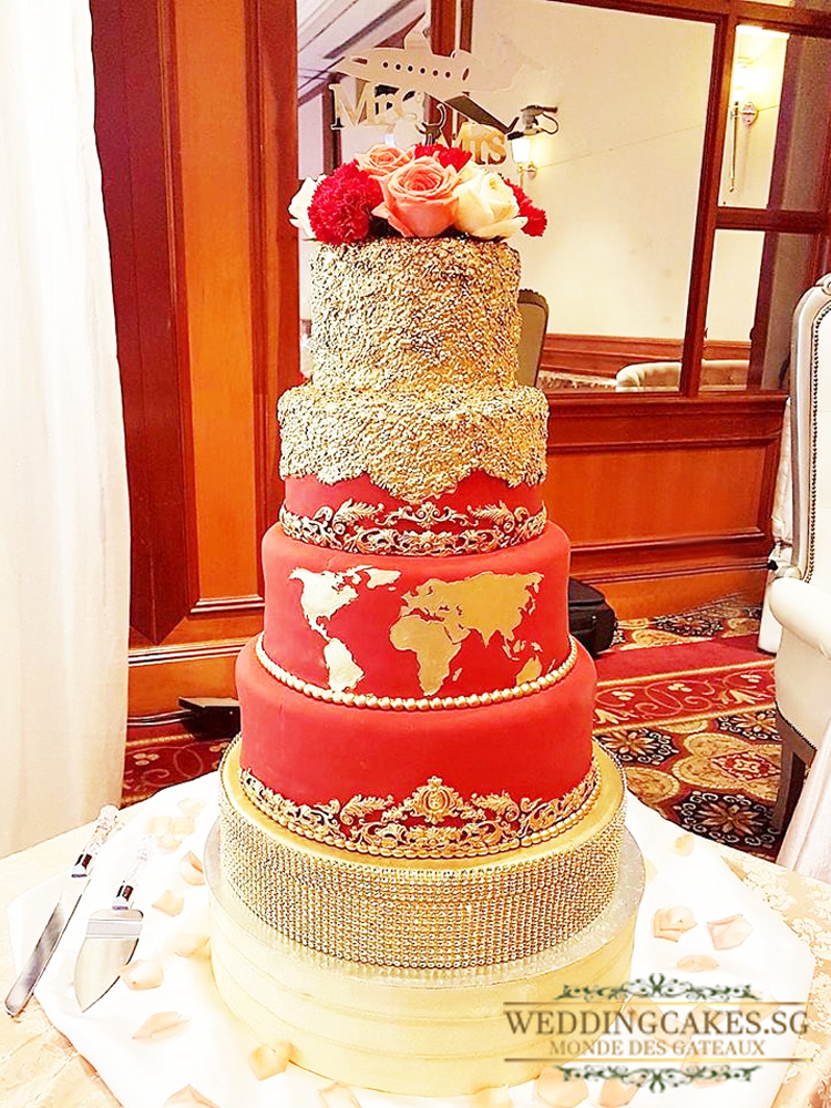 Constance de Luxurie1 - Wedding Cakes Singapore