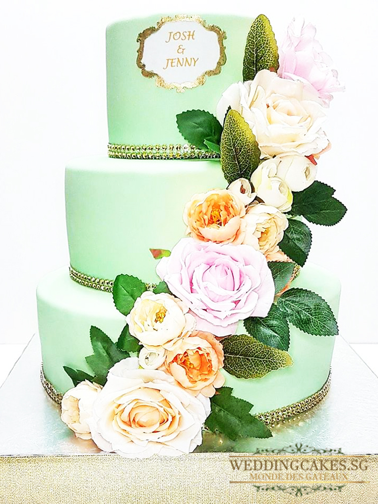 De Harriet1 - - Wedding Cakes Singapore