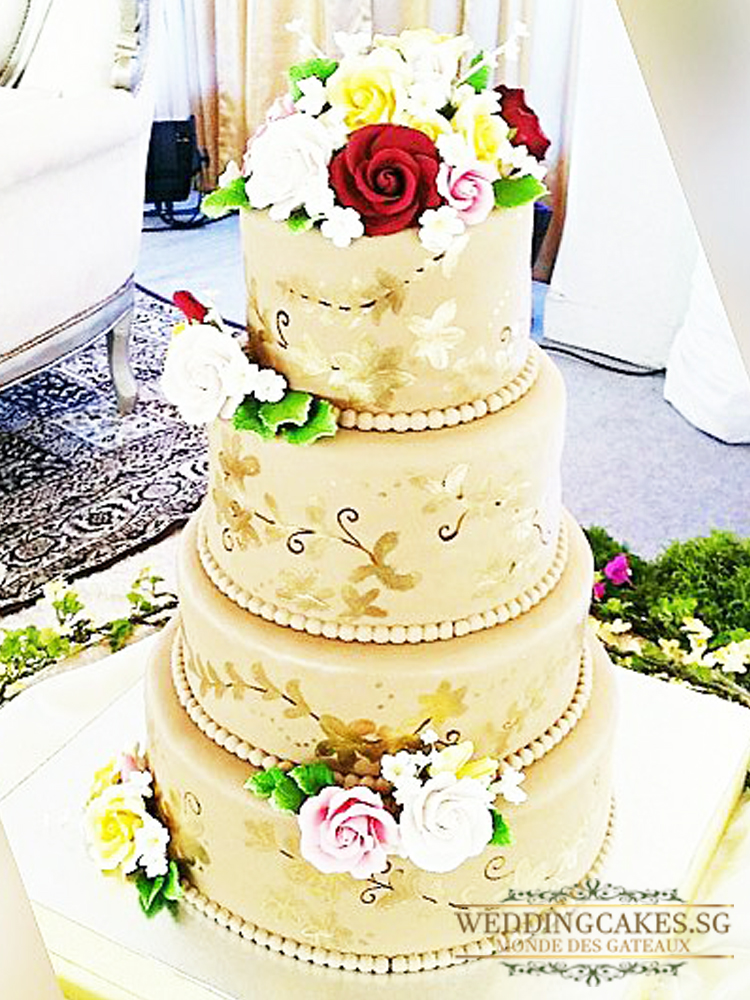 De Reggia1 - Wedding Cakes Singapore