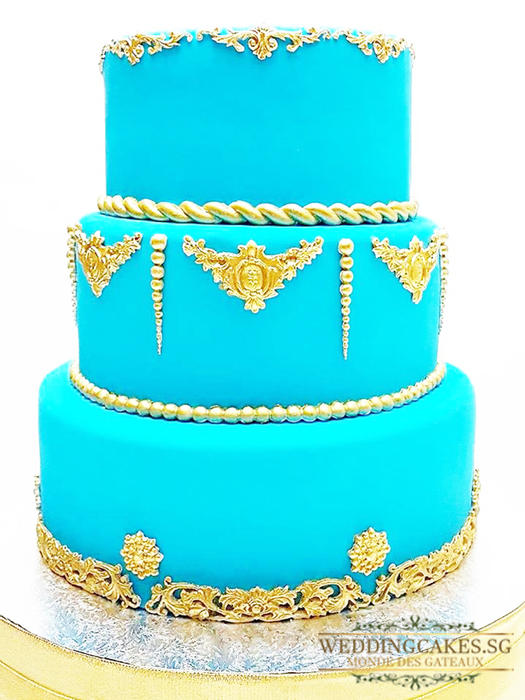 Eleganza1 - - Wedding Cakes Singapore