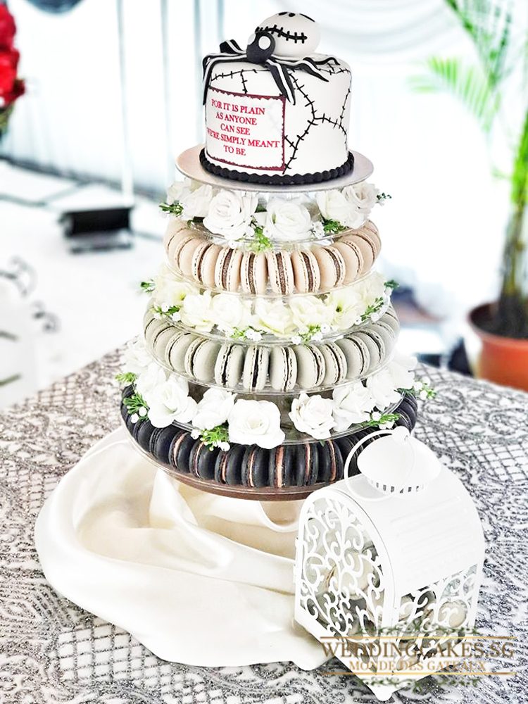 Ellipse1 Macaron - Wedding Cakes Singapore