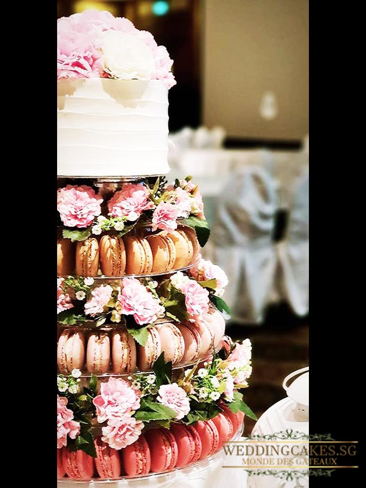 Evora1 Macaron- Wedding Cakes Singapore