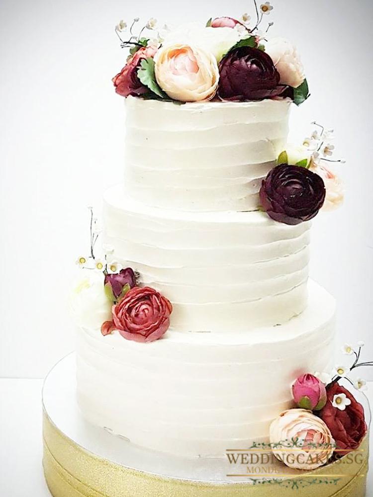 Iris1 - Wedding Cakes Singapore