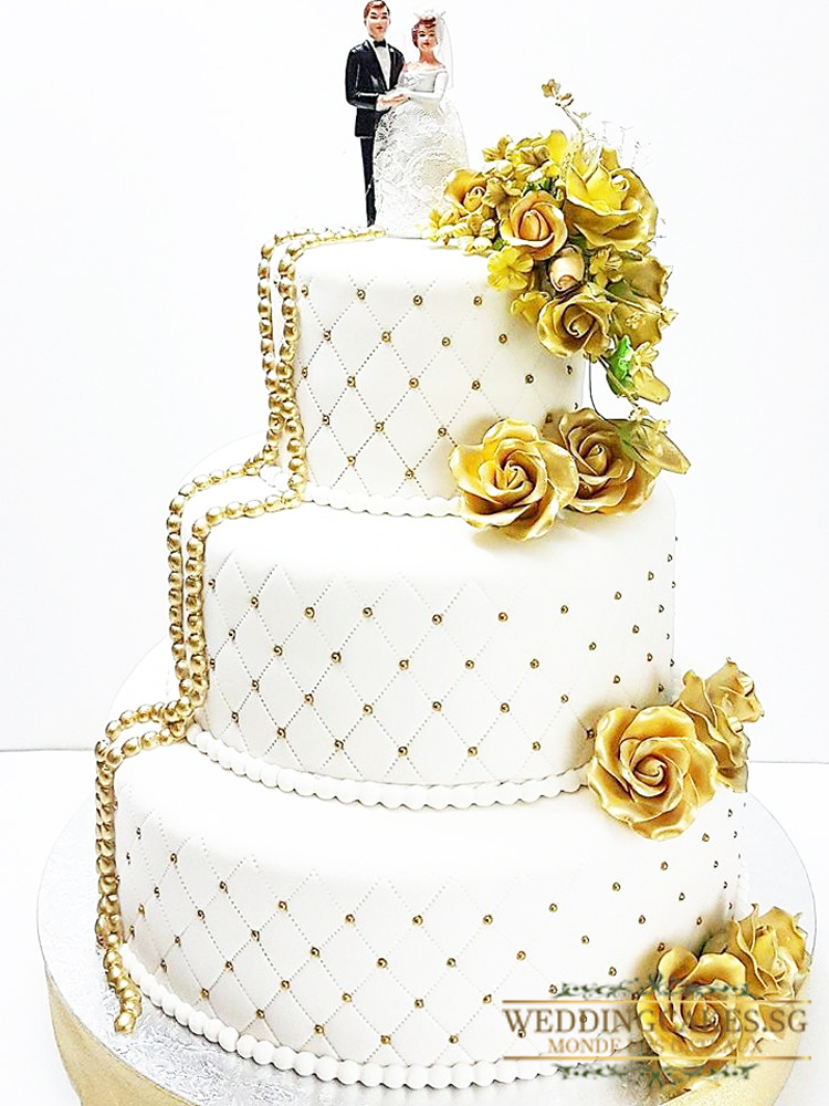 Kingsley1 - - Wedding Cakes Singapore