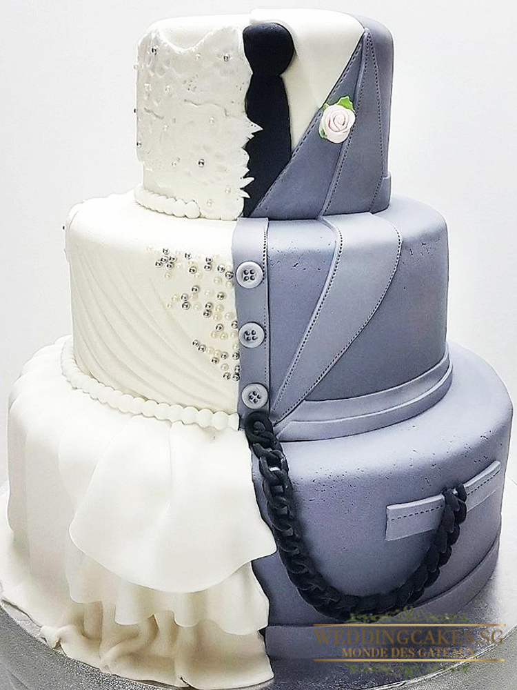 Knightbridge1 - - Wedding Cakes Singapore