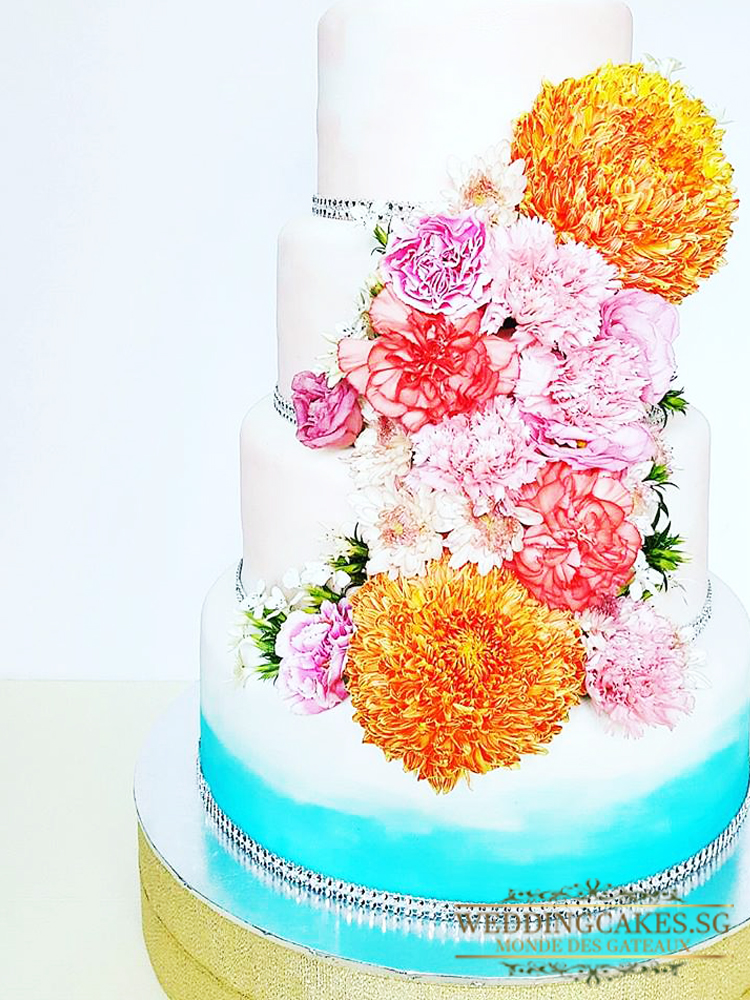 Laurent En Vous1 - Wedding Cakes Singapore