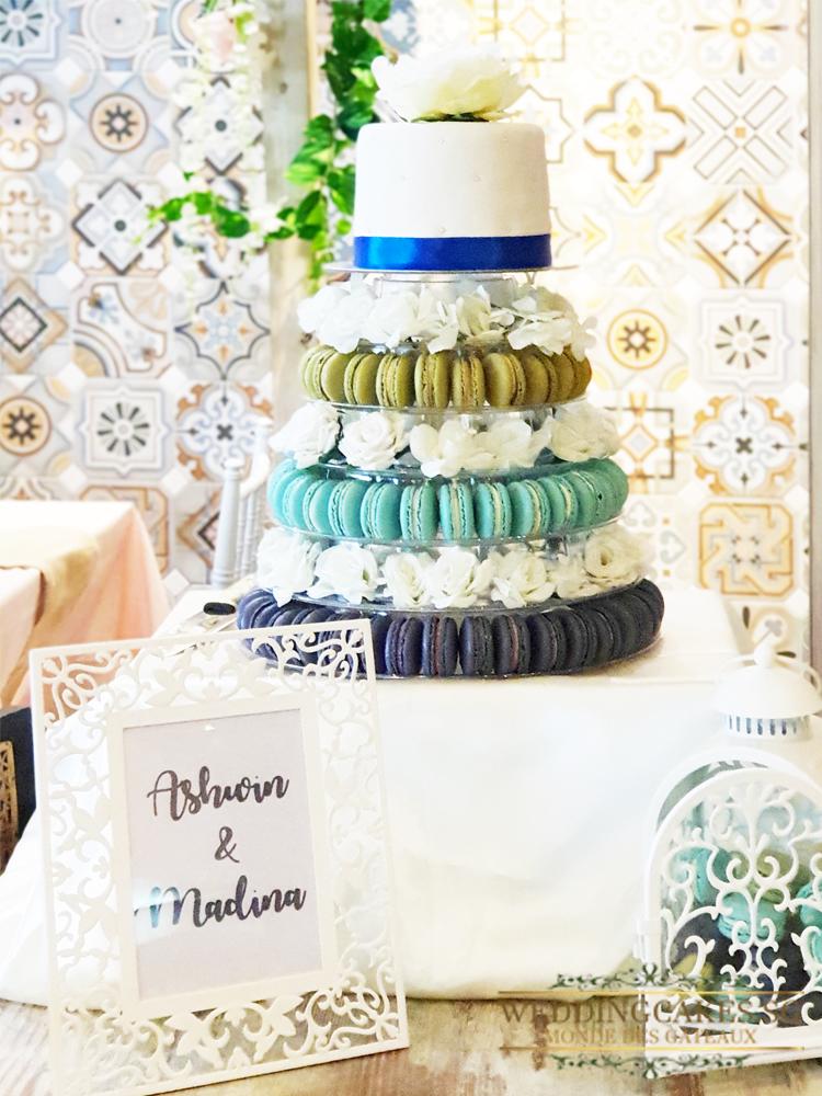 Mahina Lagon1 Macaron - Wedding Cakes Singapore