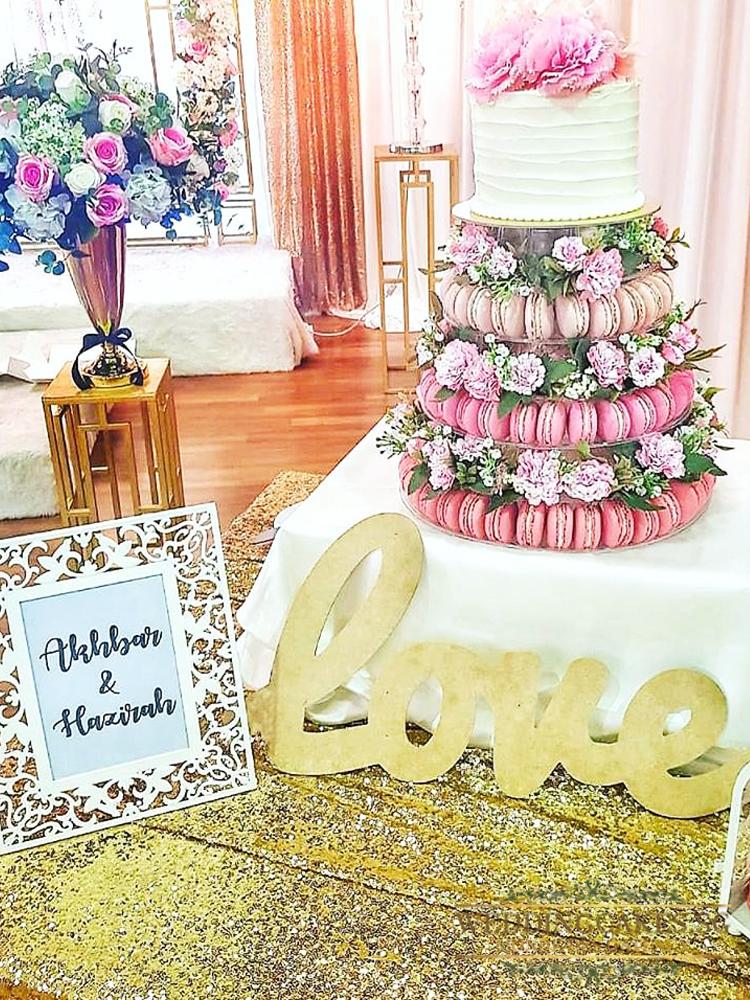 Mi Amor1 Macaron - Wedding Cakes Singapore