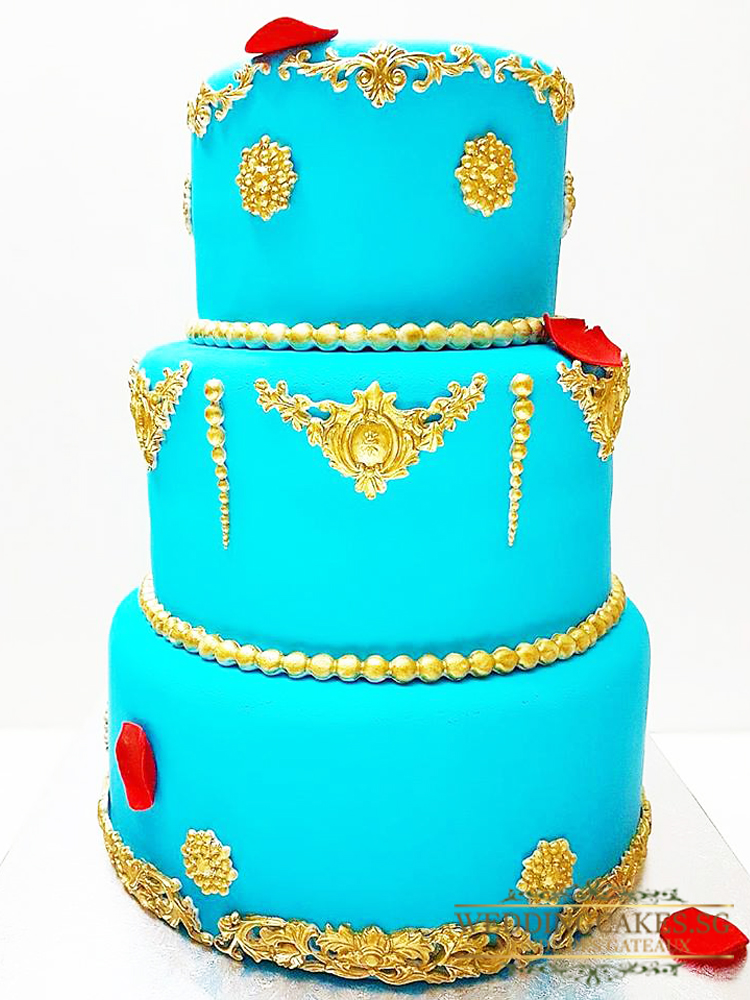 Moda Eleganza1 - - Wedding Cakes Singapore