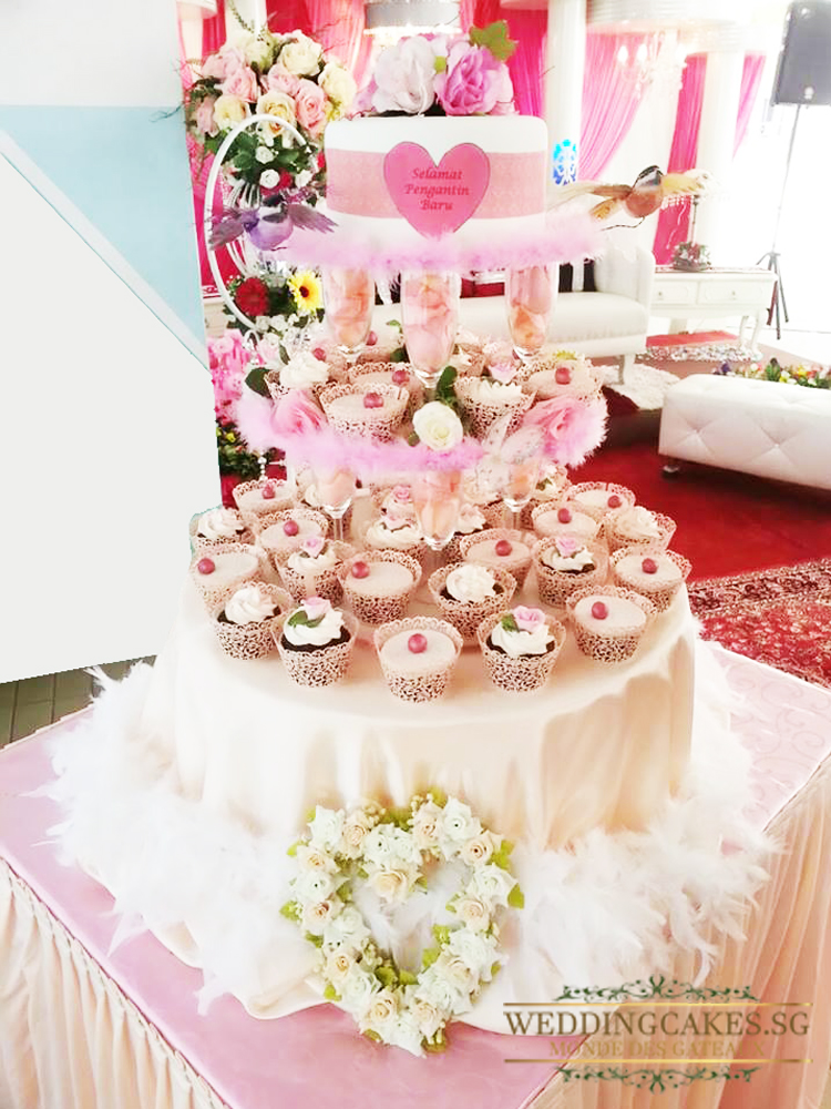 Rochelle1 Cupcakes - Wedding Cakes Singapore