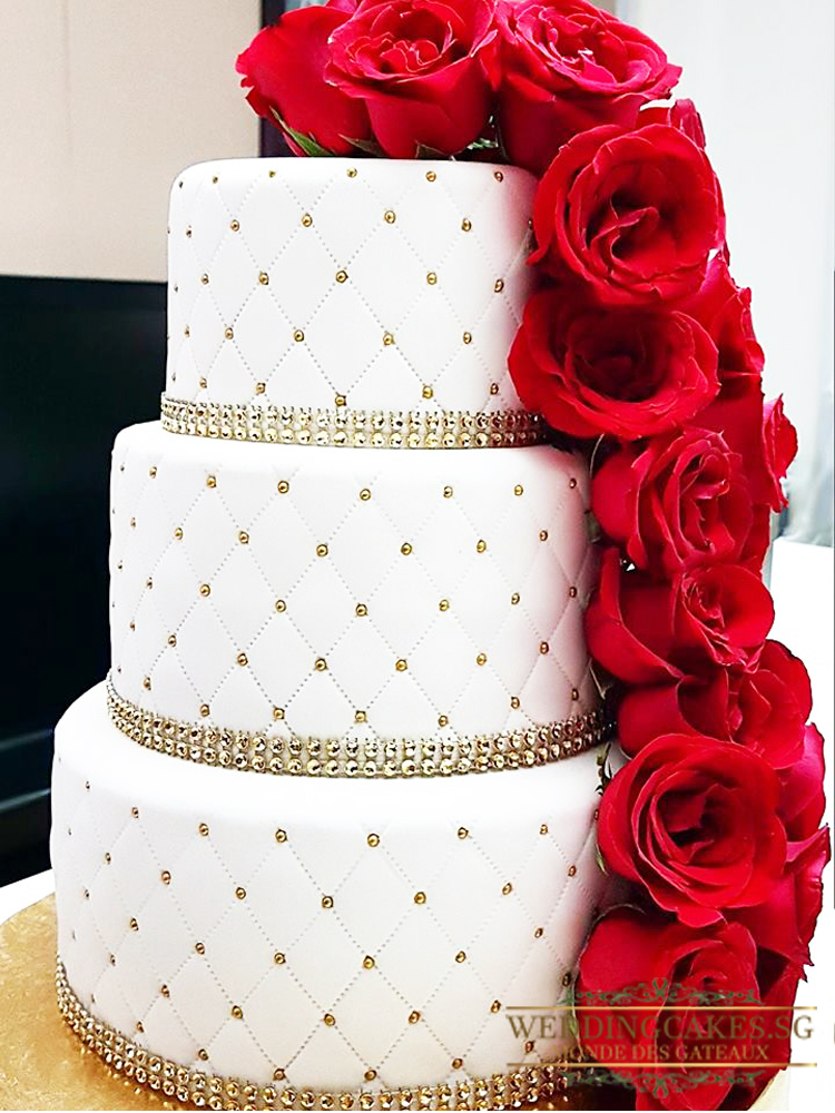 Simply Divine1 - - Wedding Cakes Singapore