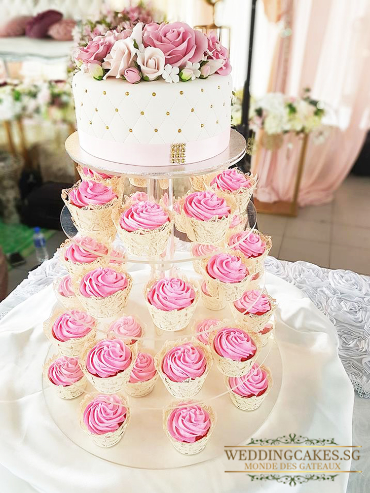 Tiffany Rozes1 Cupcakes - Wedding Cakes Singapore