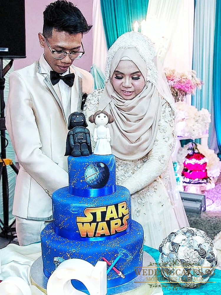 Vader Dreams1 - Wedding Cakes Singapore