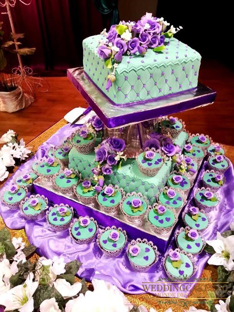 Vanda1 Cupcakes - Wedding Cakes Singapore